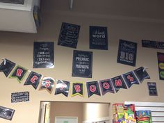 Use CTP: Chalk It Up! anywhere. Check out the pennants, posters, and cut outs.