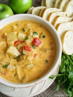 Roasted Red Pepper Potato Soup
