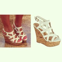 I had some like this back in the day!!!! Only they were just wedges, not platform wedges. They were my favorite sandals!!!!