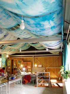 Image result for draped ceiling diy