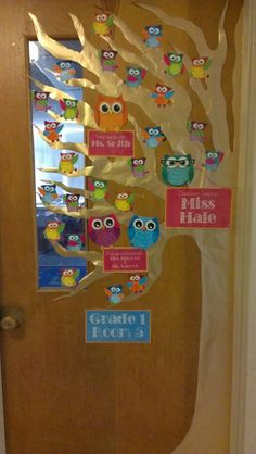 Classroom Door Decor :)