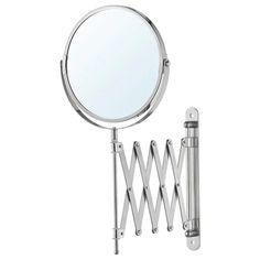 FRÄCK stainless steel, Mirror - IKEA Large Bathroom Mirrors, Large Bathrooms, Vanity Mirrors, Ikea Vanity, Mirror Glass, Bathroom Vanities, Wall Mirror, Bathroom Storage, Luz Solar