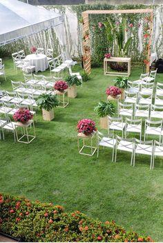 135 fantastic outdoor wedding decoration ideas page 8 Party Decoration, Outdoor Wedding Decorations, Wedding Stage, Diy Wedding, Simple Weddings, Wedding Designs, Elegant Wedding, Rosa Pink, Wedding Inspiration