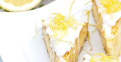 Torta de limón glaseada