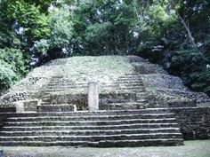 """Lamanai, which was once a considerably sized Mayan city has the distinction of being a Mayan archeological ruins area that for the most part is barely uncovered.  Lamanai is located in northern Belize.  Its major landmark is its """"High Temple"""" which towers at 33 meters tall http://twitter.com/ChichenItzaBob"""