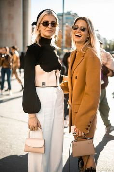 f77a758eb0dce The Very Best Street Style From Paris Fashion Week  streetfashiontrends  Style Invierno