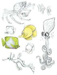 ✤ || CHARACTER DESIGN REFERENCES | キャラクターデザイン • Find more at https://www.facebook.com/CharacterDesignReferences if you're looking for: #lineart #art #character #design #illustration #expressions #best #animation #drawing #archive #library #reference #anatomy #traditional #sketch #development #artist #pose #settei #gestures #how #to #tutorial #comics #conceptart #modelsheet #cartoon #fish #crustaceans #crab || ✤