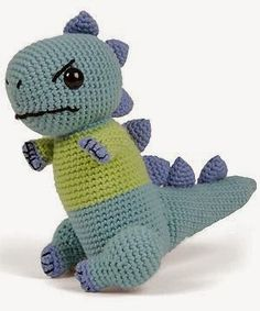 Dinosaur free crochet pattern (if i ever feel ambitious)