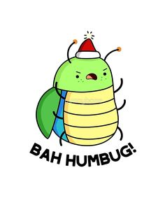 'Bah Humbug Christmas Animal Pun' Sticker by punnybone Christmas Puns, Christmas Doodles, Christmas Rock, Christmas Drawing, Christmas Animals, Christmas Crafts, Holiday Puns, Christmas Artwork, Christmas Pictures