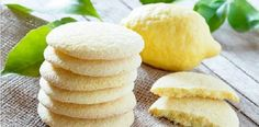 Homemade Bakery Products Stack Shortbread Cookies Stock Photo (Edit Now) 383324455 Lemon Shortbread Cookies, Lemon Sugar Cookies, Cookie Recipes, Snack Recipes, Snacks, Vegetarian Recipes, Food To Make, Food And Drink, Yummy Food