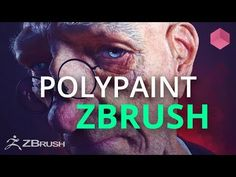 Polypaint a Head in ZBrush - Color Theory - YouTube