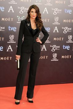 Elia Galera in Dolce & Gabbana - Goya Awards Red Carpet 2014