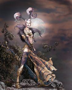 Sorceress by fuchsiart on DeviantArt