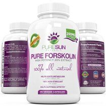 purists choice forskolin extract 250 mg