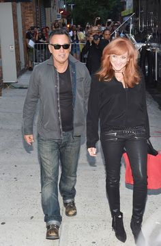 Bruce Springsteen Patti Scialfa Photos - 'The Daily Show With Jon Stewart' #JonVoyage - Arrivals & Departures - Zimbio