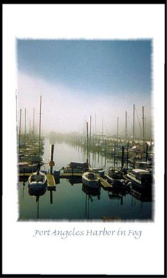 Here's an image that I made on a foggy day in Port Angeles at the boat harbor… Western Washington, Washington State, Port Angeles Washington, Neah Bay, Ship Map, Marine Traffic, Port Townsend, Olympic Peninsula, Pacific Coast