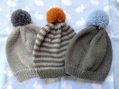 never odd : Knit a baby beanie