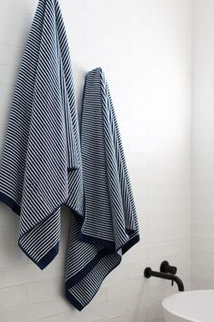 How to decorate your bathroom: Bathroom styling tips and tricks Small Indoor Plants, Small Stool, Striped Towels, Body Brushing, Bathroom Trends, Simple Bathroom, Bathroom Styling, Hanging Planters, Styling Tips