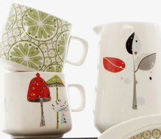 print & pattern: TABLEWARE - sarah heaton