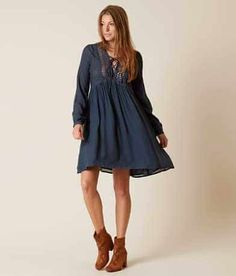 Moon & Sky Peasant Dress - Women's Dresses in Dark Teal Today Images, Dark Teal, Dresses Online, Women's Dresses, Cold Shoulder Dress, Lace Up, Casual, Shopping