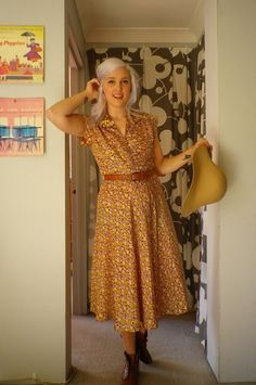 The travelling dress