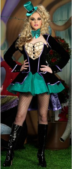 Mischievous Mad Hatter. Cute Just make it longer!!!