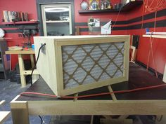 made air filter - by povertyridge @ ~ woodworking community Woodworking Shop, Woodworking Plans, Woodworking Projects, Home Workshop, Garage Workshop, Workshop Ideas, Shop Dust Collection, Garage Atelier, Home Blogs