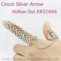 Saya menjual Cincin Silver Arrow Hollow Out KR52666 seharga Rp48.000. Dapatkan produk ini hanya di Shopee! https://shopee.co.id/larisastore/9456711 #ShopeeID