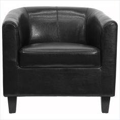 Flash Furniture Office Guest Chair in Black - BT-873-BK-GG