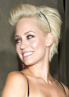 Short Edgy Hairstyles Picture Kimberly Wyatt Hair Style Design 357x504 Pixel