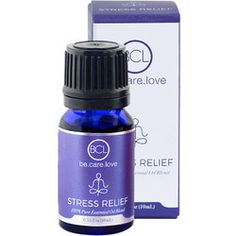 BCL Spa Stress Relief Essential Oil Blend - Lavender & Cedarwood - oz ml) - Purest Quality - BCL Spa Stress Relief Essential Oil Blend meets the highest industry standard for quality and purity. Why try anything less? Stress Relief Essential Oils, Essential Oil Blends, Why Try, Massage, Lavender, Perfume Bottles, Spa, Wellness, Pure Products
