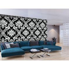 Fototapete im Retro-Stil ergänzt sicherlich eine moderne Inneneinrichtung  #fototapete #fototapeten #home #decor #wallpapers #blume #blumen #retro