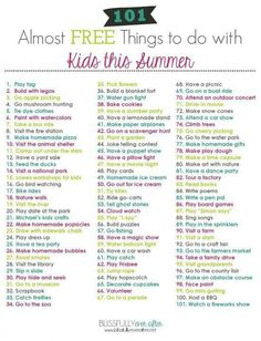 Summer things for kids