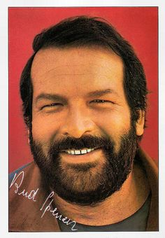 Bud Spencer aka Carlo Pedersoli (R. the man with the steamhammer! Retro Hits, Professional Swimmers, Terence Hill, Vintage Television, Series Movies, Vintage Movies, Movie Stars, Actors & Actresses, Mario