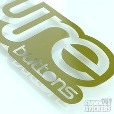 Cut Vinyl Decals for PureButtons