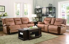 Homelegance 8414-3 Wasola Collection Color • Brown 100% Polyester