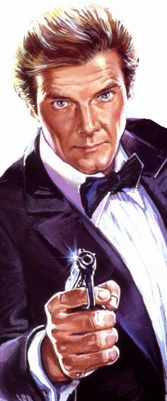 """Roger Moore (1985) """"A View To A Kill"""""""