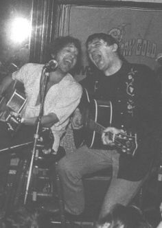 6- Rick Danko and Bob Dylan