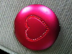 Heart compact for girls team given on valentines day! We also gave one to the coach with note that said thanks for helping us to see our potential! Swim Team Gifts, Compact, Valentines Day, Note, Heart, Girls, Valentine's Day Diy, Toddler Girls, Daughters