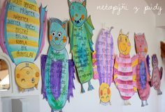 U nás na kopečku: Vyjmenovaní netopýři Group Art Projects, Art For Kids, School, History, Art Kids