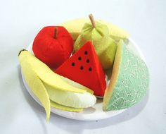 Felt fruit set2 by fairyfox, via Flickr
