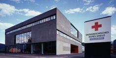 Rotkreuz Zentrale Vorarlberg © Hanspeter Schiess Feldkirch, Broadway Shows, Red Cross, Bregenz, Crosses, Architects