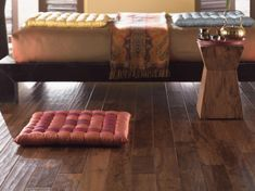 Mohawk Flooring is a leader in revolutionary flooring innovation, award-winning design, and backs its products with a team dedicated to outstanding service. Mohawk Flooring, Hardwood Floors, Solid Wood, Ottoman, Chair, Furniture, Design, Home Decor, Wood Floor Tiles