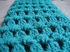 Granny Tears Scarf - Left Handed Verison - Crochet Tutorial
