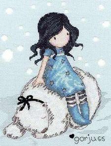 Gorjuss; Winter Friend Cross Stitch Kit XG8