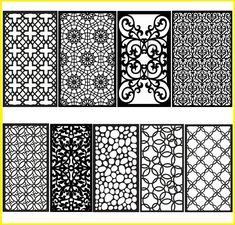 50% OFF 1000 files dxf Geometric Patterns Panel Templates for | Etsy Autocad, Vinyl Dekor, Adobe Illustrator, Geometric Wall, Geometric Patterns, Machine Cnc, Cnc Maschine, Bookmark Craft, Cricut