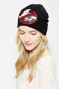 8238c13eb0b Ghostbusters Beanie. GhostbustersUrban OutfittersLive ...