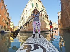 GoPro Channel | SUP in Venice - best pants ever!