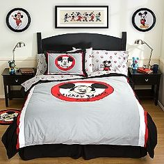 Mickey Mouse Room ideas..I\'m in love wished I cold do this | My ...