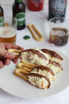 Sardine Recipes Canned, Best Potato Salad Recipe, Tapas Bar, Party Finger Foods, Portuguese Recipes, Canapes, Mediterranean Recipes, Wine Recipes, Andalusia